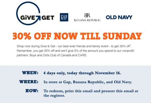 Bring this flyer with you. Valid until Nov 16.